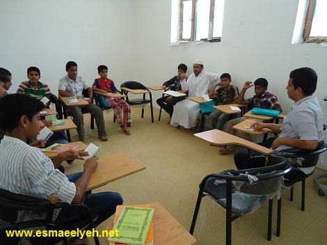 کلاسهای دینی مدرسه اسماعیلیه (تابستان 93 ویژه دانش آموزان راهنمایی و دبیرستان)