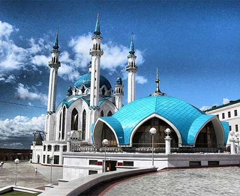 مسجد گل شریف قازان روسیه