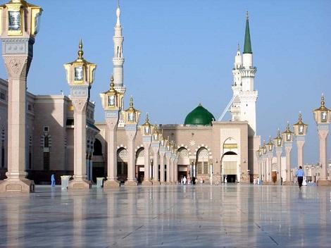 تصاویر سه بعدی از مسجد النبی