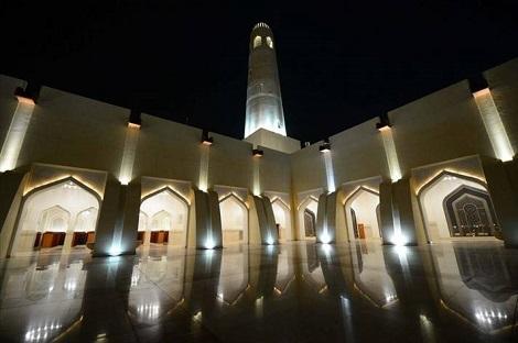 مسجد «نور» قطر