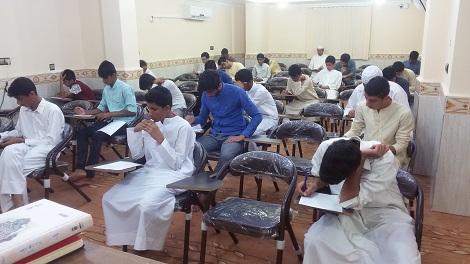 گزارش تصویری از برگزاری امتحانات پایانی سال تحصیلی 96-95 مدرسه اسماعیلیه