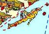 زمین لرزه های تاریخی جزیره
