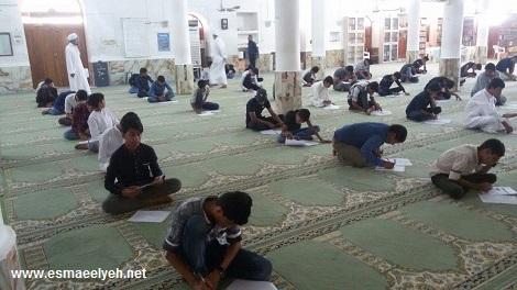گزارش تصویری از آزمون ورودی سال تحصیلی 97-96 مدارس علوم دینی اهل سنت و جماعت جزیره قشم