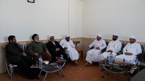 بازدید حجت الاسلام  والمسلمین هاشمیان رئیس مجتمع آموزش عالی علوم و مطالعات اسلامی از مدرسه اسماعیلیه