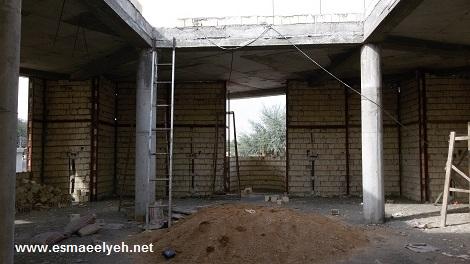 پروژه مسجد و شعبه حفظ در حال احداث مدرسه اسماعیلیه