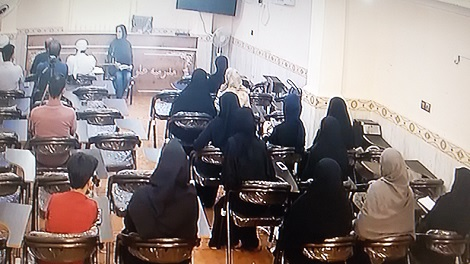 گزارش تصویری اولین همایش اهل قلم کانون نویسندگان مجتمع دینی اهل سنت شهرستان قشم  به میزبانی مدرسه علوم دینی اسماعیلیه
