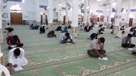 گزارش تصویری از آزمون ورودی سال تحصیلی 98-97 مدارس علوم دینی اهل سنت و جماعت جزیره قشم