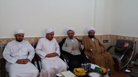 بازدید حجت الاسلام رضایی ریاست دفتر نماینده ولی فقیه از مدرسه اسماعیلیه