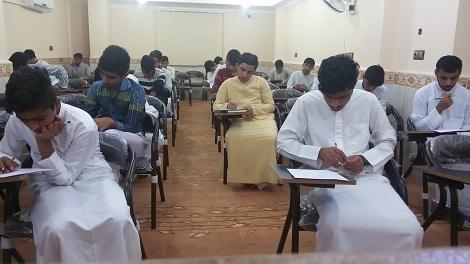 گزارش تصویری برگزاری امتحانات نیمسال 98-97 مدرسه اسماعیلیه بخش برادران