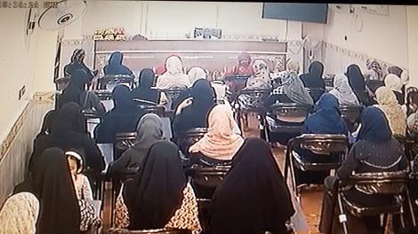 برگزاری مراسم تجلیل از ممتازین حفظ شعبه حفظ خواهران مدرسه علوم دینی اسماعیلیه