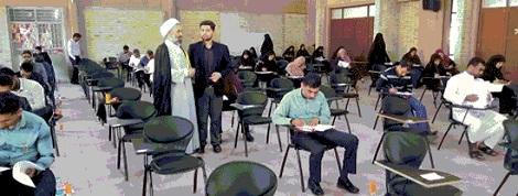 آزمون تعیین سطح ویژه مدرسین و روحانیون اهل سنت در بندرعباس برگزار شد