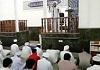 مراسم نماز جمعه شهر درگهان به امامت شیخ ابراهیمی