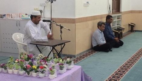 گزارش تصویری جشن الفبا دانش آموزان کلاس اول دبستان شیخان با حضور شیخ شافعی تشیخ