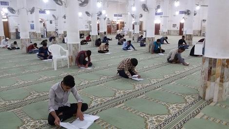 گزارش تصویری آزمون ورودی سال تحصیلی 99-98 مدارس علوم دینی اهل سنت جزیره قشم بخش برادران