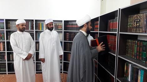 بازدید دکتر باوقار ریاست محترم دفتر نمایندگی ولی فقیه هرمزگان از مدرسه علوم دینی اسماعیلیه
