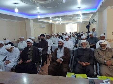 گزارش تصویری اولین نشست فصلی روحانیون حج اهل سنت در مدرسه اسماعیلیه