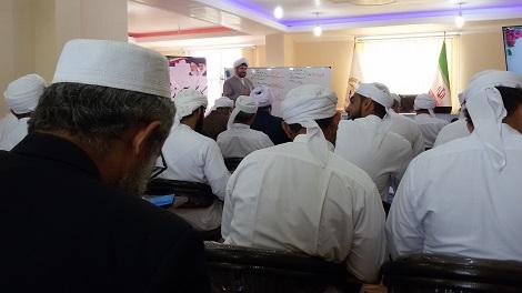 گزارش تصویری برگزاری کارگاه فن خطابه و سخنرانی ویژه ائمه جمعه شهرستان قشم