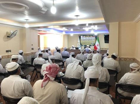 گزارش تصویری برگزاری نشست ائمه جمعه اهل سنت شهرستان قشم در سالن اجتماعات مدرسه اسماعیلیه